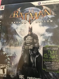Sony PS3 Batman Arkhan Asylum case La Grange, 95329