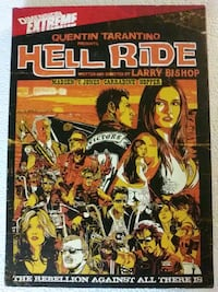 Quentin Tarantino presents Hell Ride dvd