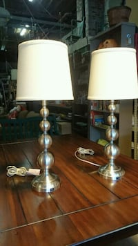 Brushed Metal Table Lamps  Buffalo, 14209