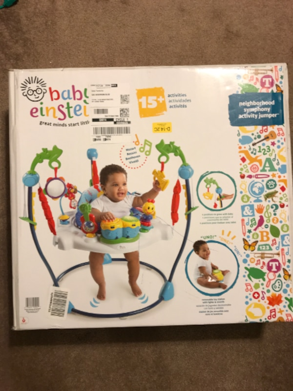 d7c92a37fc5a Used Baby Jumper Toy Station in Neighborhood Symphony Activity ...