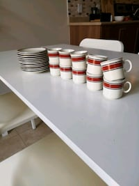 Espresso cups and saucers Caledon, L7C 2H1