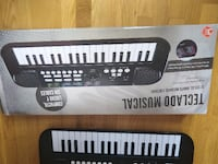 teclado musical MADRID