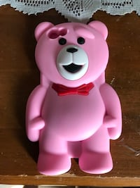 Cute pink rubber bear iPhone 6's case $10 Calgary, T2A 6Y8