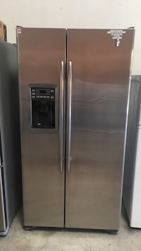 stainless steel side-by-side refrigerator with dispenser Concord, 94520