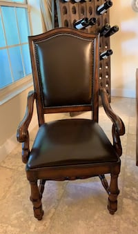 Real leather chair (set of two)  Coral Gables, 33156