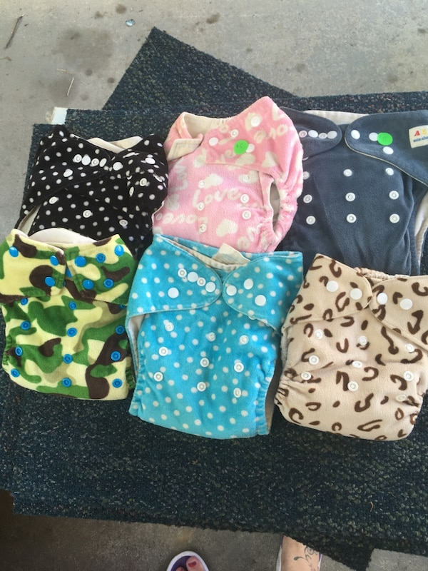 Minke cloth diapers