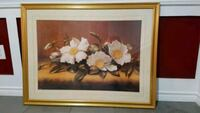white and yellow petaled flower painting Bradford West Gwillimbury, L3Z 2A4