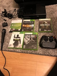 Xbox 360 slim bundled with 5 games+controller Long Beach