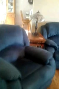 Sofa with recliners and 2 rockers.  recliners   Thurmond, 28683