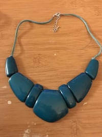Teal Stone Necklace Methuen, 01844