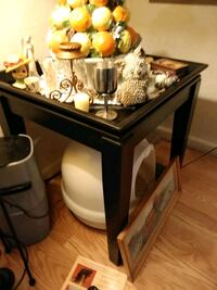 Square  black wooden table  San Jose, 95116