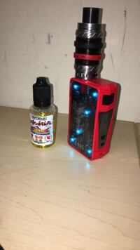 Red Khos z mod with a silver king beast and 2 brown batteries and good coil