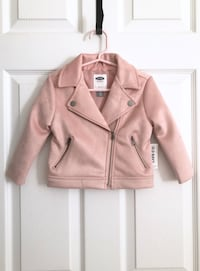 Old Navy toddler moto jacket size 2T Mississauga, L5M 0H2