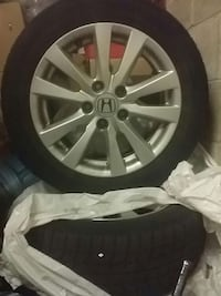 grey Honda multi-spoke auto wheels with tires Ottawa, K2E 6K6