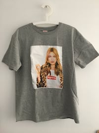 2012 Kate Moss SUPREME tee shirt