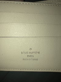 Luis Vuitton wallet white blue Burnaby, V5G 1M7