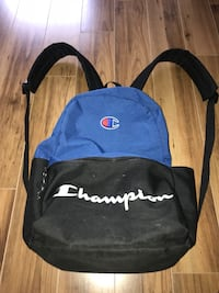 Black and blue champions bag  3712 km