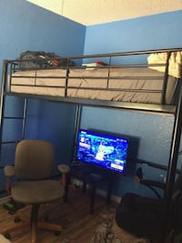 full size loft bed frame like new Hernando, 34442