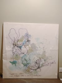 Watercolor Canvas Wall art piece Burnaby, V5G
