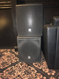 JBL 600W Subs Priced together, can be sold separately