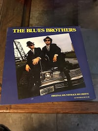 Blues brothers soundtrack record album