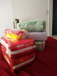 Diapers size 1 & 2  Sebring, 33870