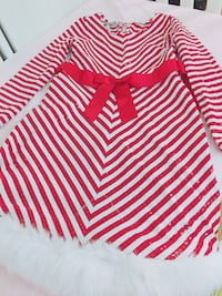 white and red striped textile 29 km
