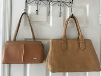 tan beige color leather bag  Silver Spring, 20906