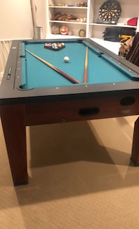 Classic Sport 7-Foot Swivel-Top 2-in-1 Billiards and Hockey Game Table Warrenton, 20187