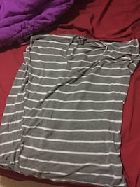 Grey stripped shirt  Edmonton, T6J 5R2