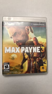Max Payne 3 ps3 game Innisfil