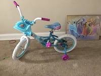 Toddler's blue and pink bicycle with training wheels Oxon Hill, 20745