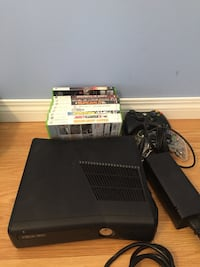 xbox 360 console with 9 games Spruce Grove, T7X 2M8