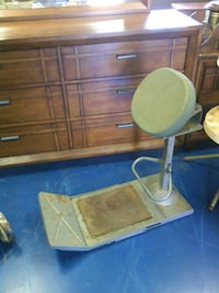 Vintage barber and shoe shine chair Oilton, 74052