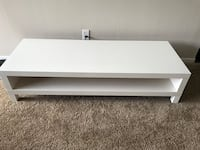 IKEA white wooden 2-layer tv stand Fort Wayne, 46815