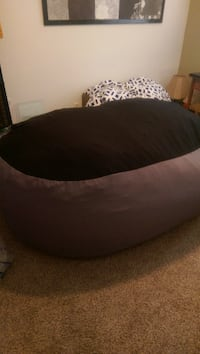 Lovesac Gray and Black Thornton