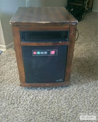 Duraflame Portable Electric Infrared Quartz Heater Oak