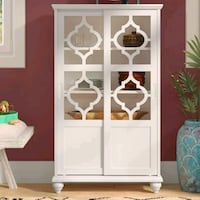 white wooden cabinet with mirror New York, 10003