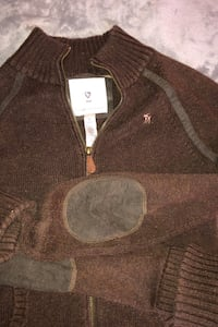 A & F size M sweater excellent condition. Leather elbow protectors Reisterstown, 21136