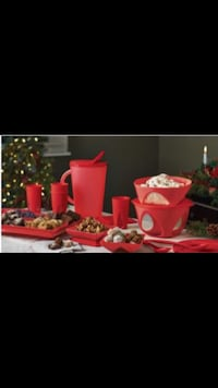 Holiday gift set brand new TUPPERWARE, big bowl is not included Calgary, T3J