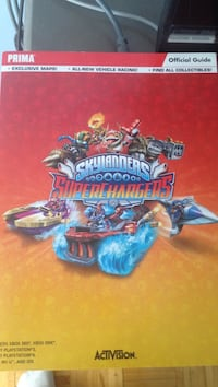 Prima Skylanders Superchargers official guide book Laval, H7N 2T9
