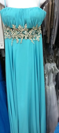 Teal Prom Dress (Medium) San Diego, 92101