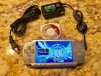 Jailbroke/Modify Metallic Silver PSP Fully Loaded Over 3000 Classic Games  Modesto, 95358