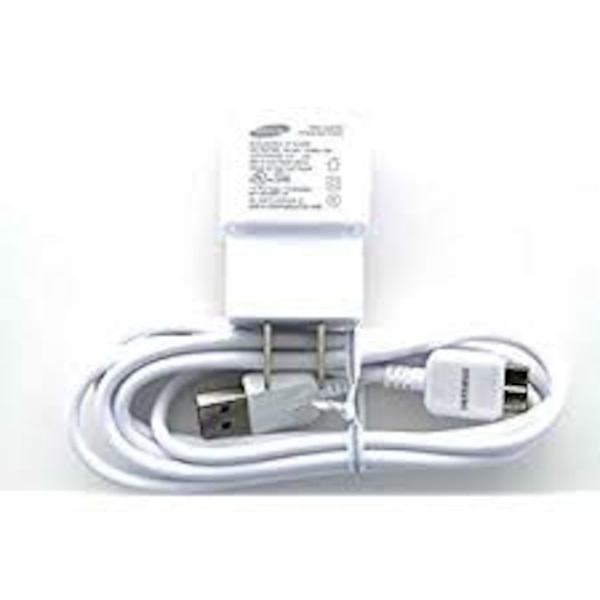 Samsung OEM Micro-USB 3.0 Charger 2.0-Amp for Samsung Galaxy S5 and Note 3 - Non-Retail Packaging - White