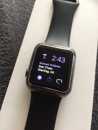 Apple Watch 38mm Sterling, 20165