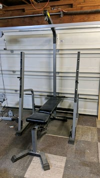 Nautilus weight bench