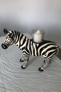Partylite zebra votive holder Markham