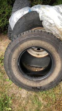 Large truck tire and assorted others Langley, V3A 6J2