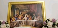 African Art- The Last Supper Painting  Clinton, 20735
