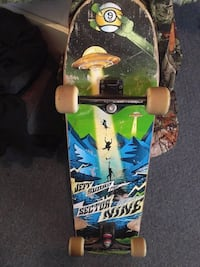 blue, green, and black Sector Nine skateboard Dothan, 36303